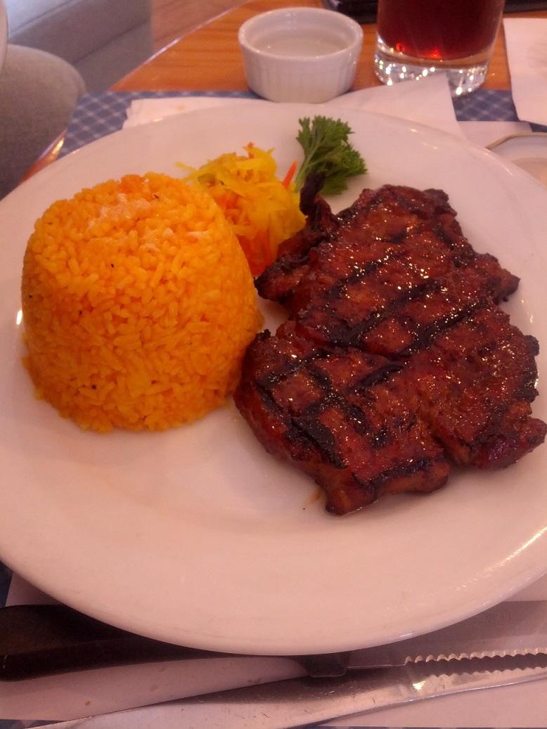 Main Dishes Barbequed Pork Steak 315-