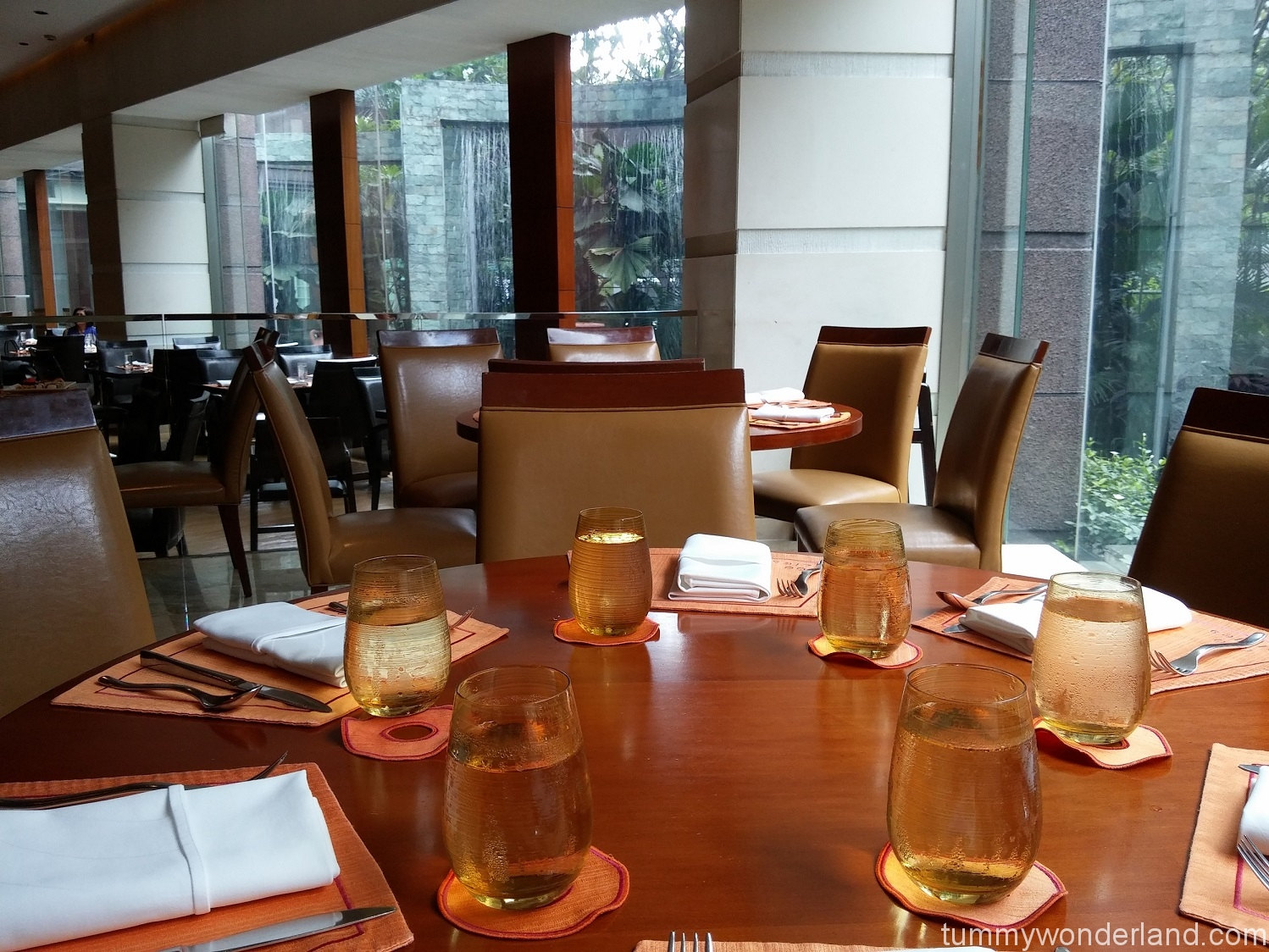 Makati Shang Circles tables