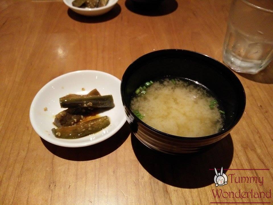 miso soup tonteki