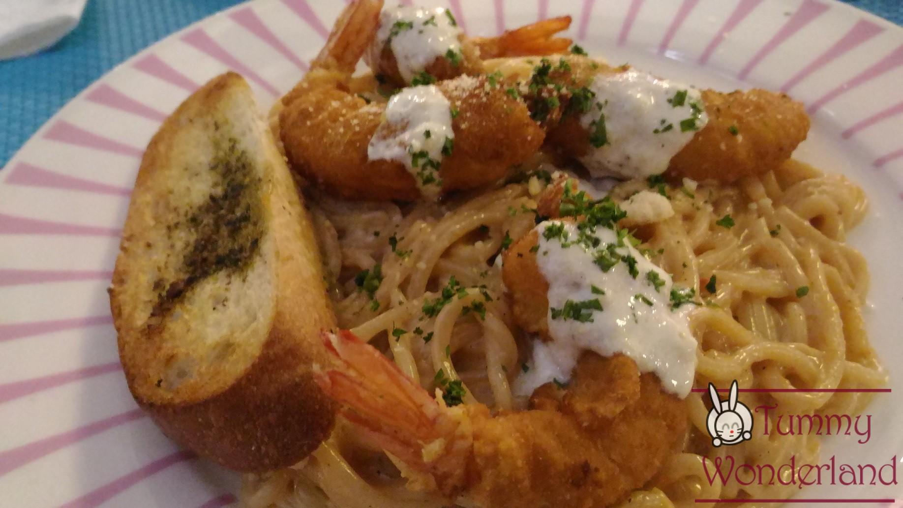 Lalaland_shrimp pasta