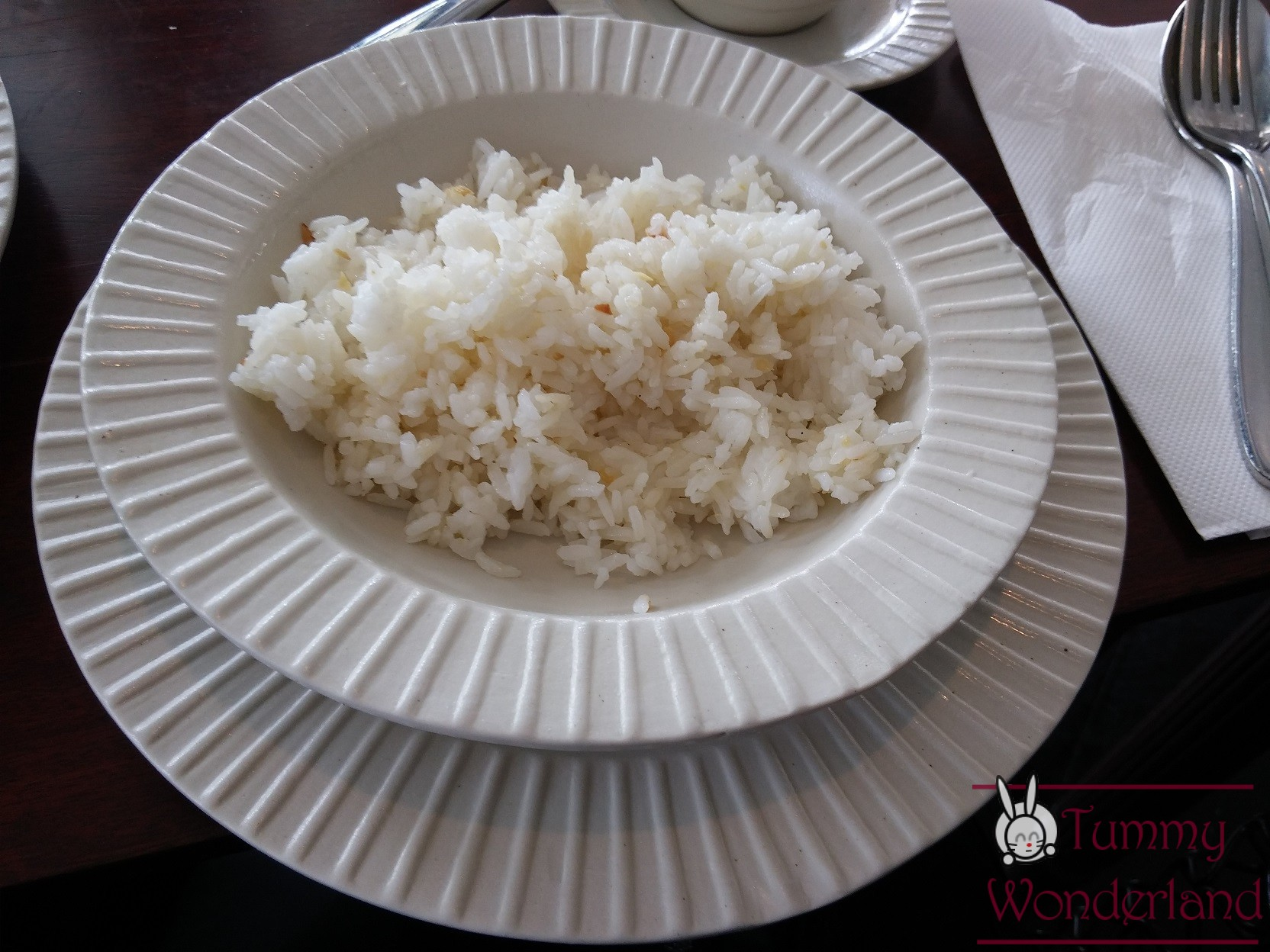 Breakfast at Antonio's_garlic rice