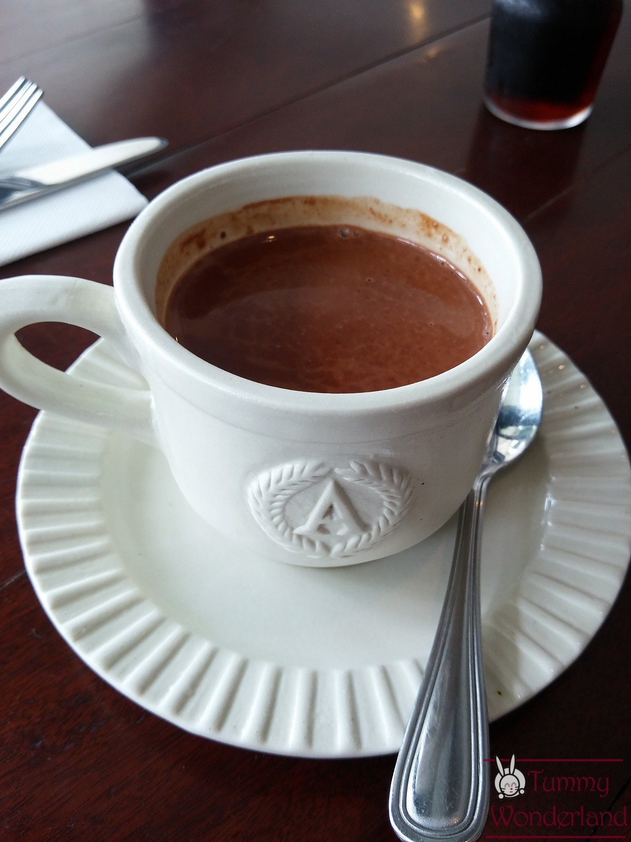 Breakfast at Antonio's_hotchoco